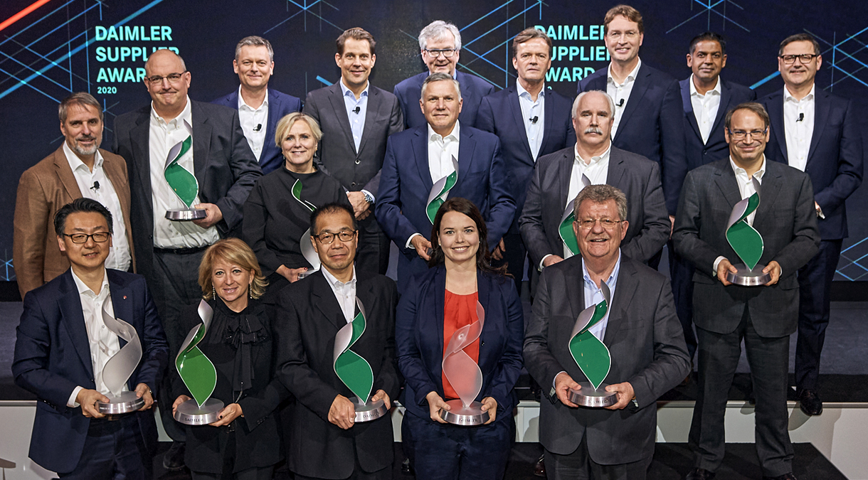 Daimler Supplier Awards 2020