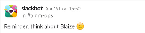 Reminder: Think about Blaize