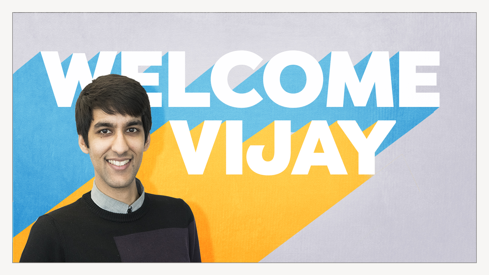 Welcome Vijay