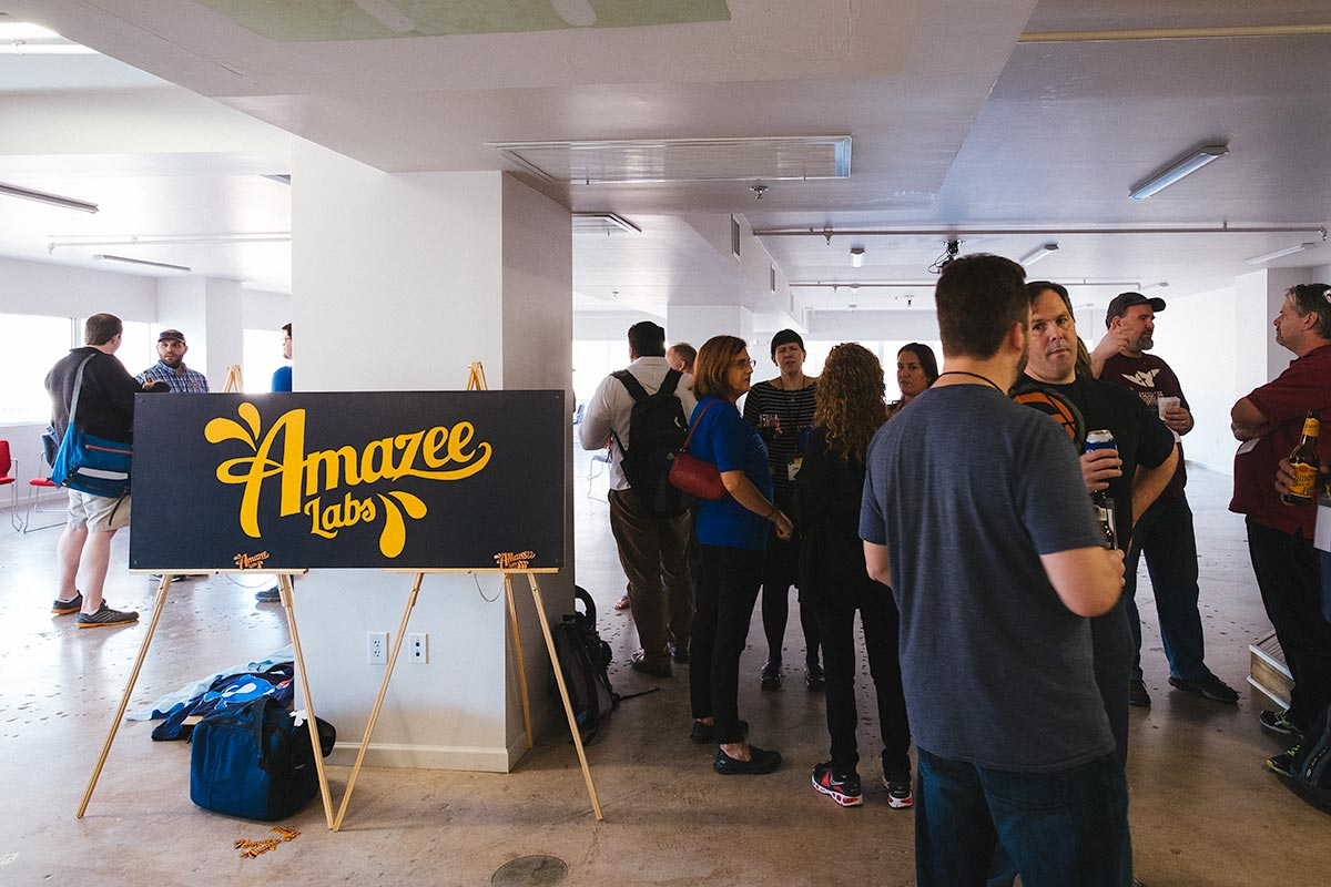 Amazee Labs sponsored afterparty
