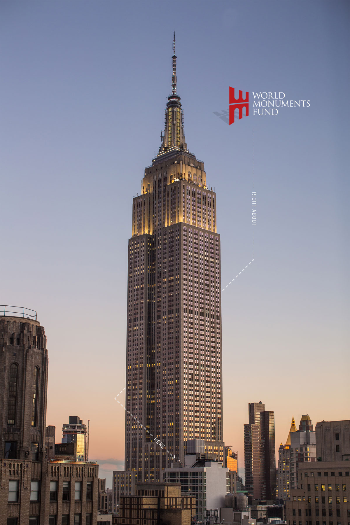 Image of Empire State Building, WMF headquarters