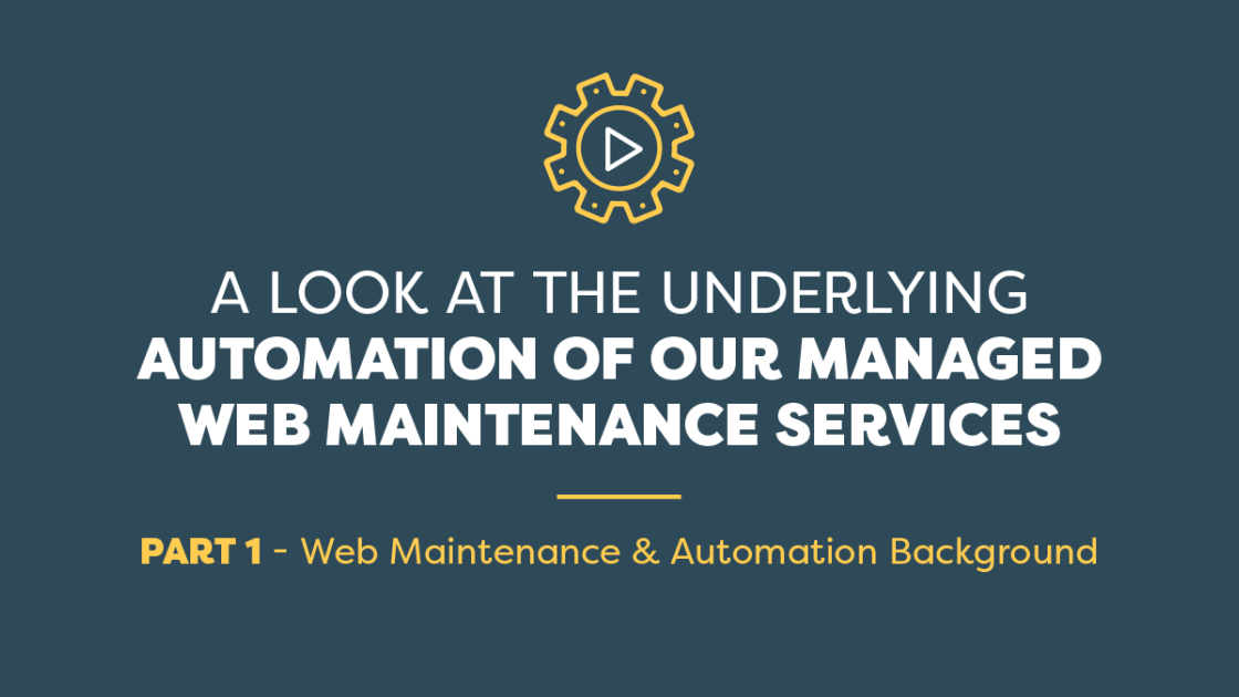 Amazee Labs - A Look at the Underlying Automation of our Managed Web Maintenance Services - Part 1