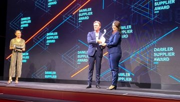 Amazee Labs wins the Daimler Key Supplier Inspiration Award 2020