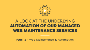 Amazee Labs - A Look at the Underlying Automation of our Managed Web Maintenance Services - Part 2